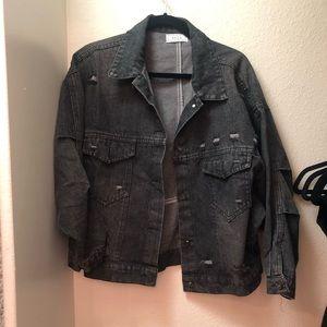 Oversized Trucker jean jacket